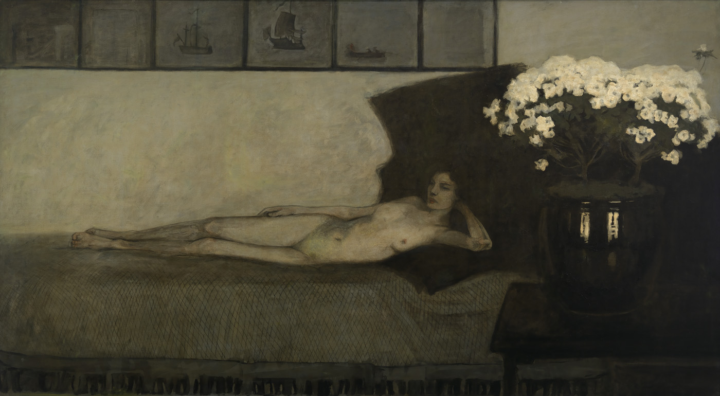 Romaine Brooks - Azalees Blanches - 1910