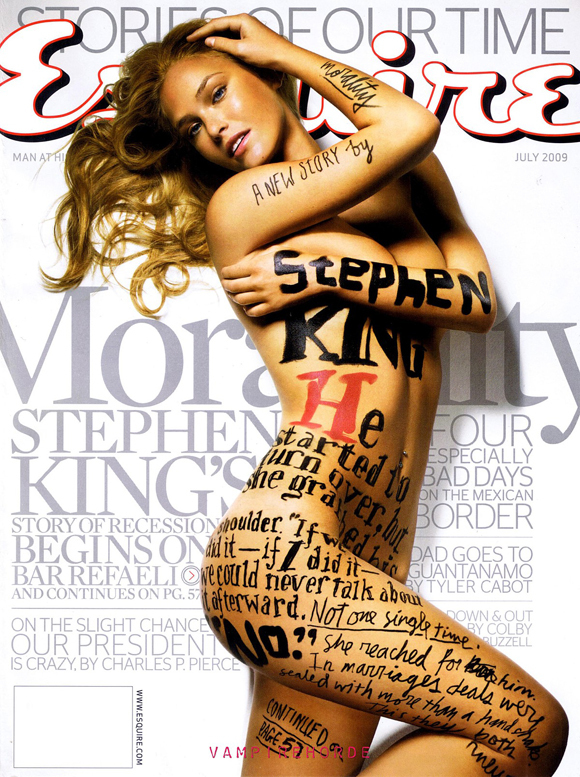 1-bar-refaeli-stephen-king-esquire-desnuda