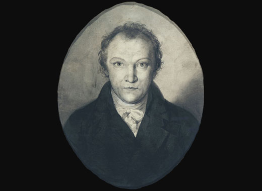 auto retrato de william blake
