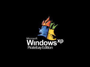 Pirate Bay Windows XP Logo