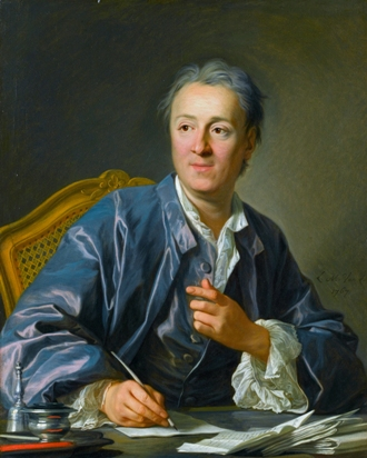 Denis Diderot, by Louis Michel Van Loo