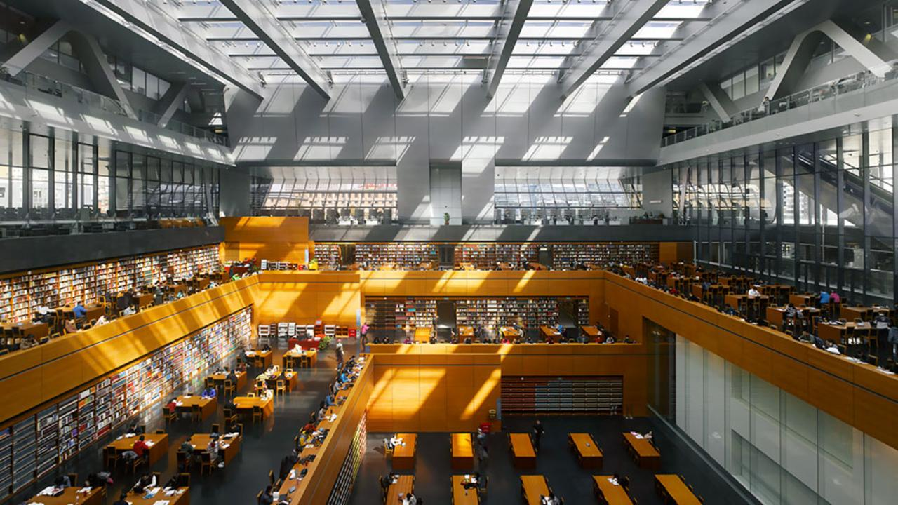 Jürgen Engel's National Library of China in Beijing