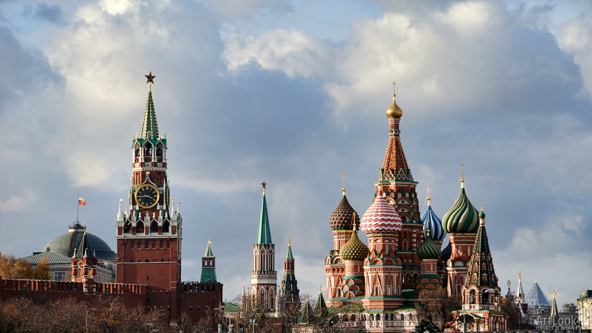The Very Symbols and Emblems of Moscow City - Moscow cityscapes by Moscow Guide and Driver