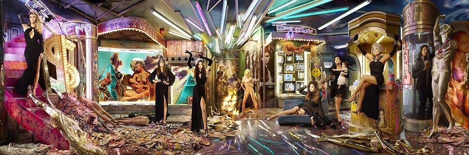 The Kardashian Christmas card: 'gaudy clickbait replete with thinly veiled digs at celebrity culture