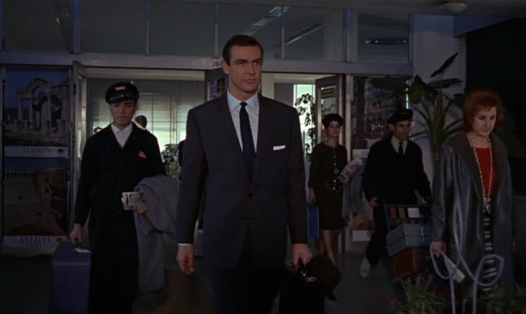 "James Bond en ""From Russia with Love"""