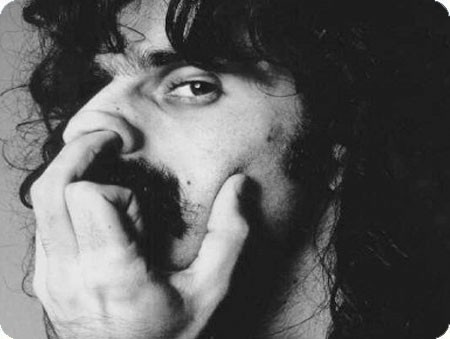Frank-Zappa-Black-And-White-Nose-Picking