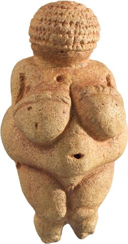 "La invaluable ""Venus de Willendorf"""