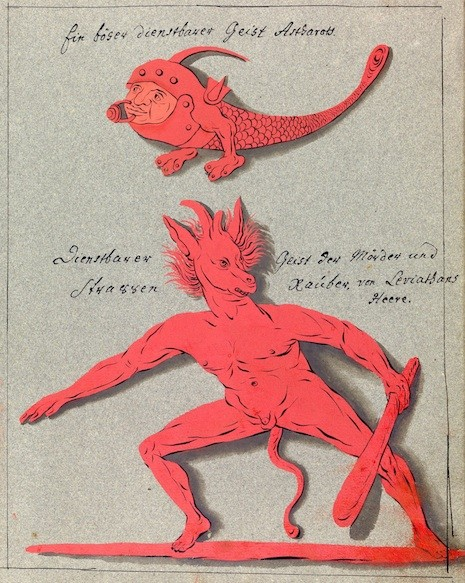 L0076378 A compendium about demons and magic. MS 1766.