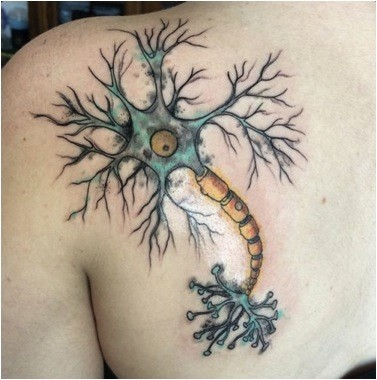 Neurona tattoo