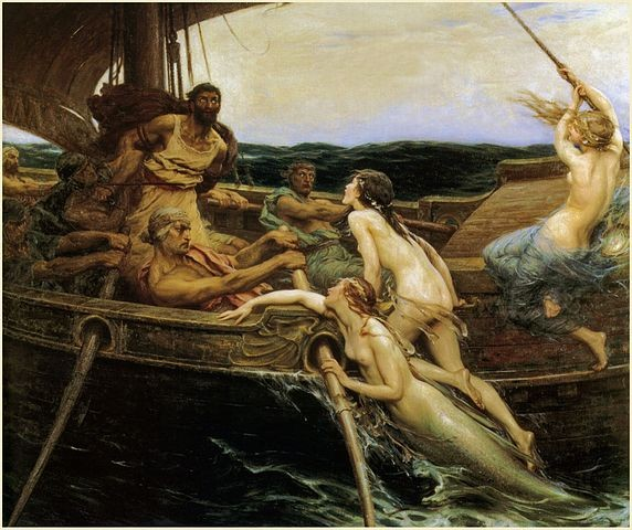 572px-Herbert_James_Draper,_Ulysses_and_the_Sirens,_1909
